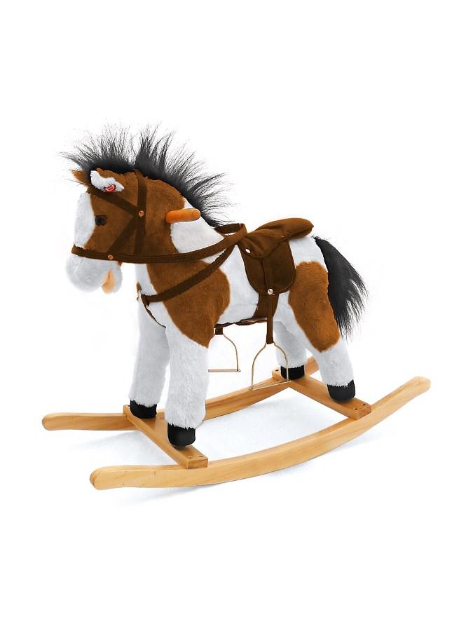 Houpací kůň Milly Mally Pony Figaro Látkový houpací koník se zvuky a pohyby