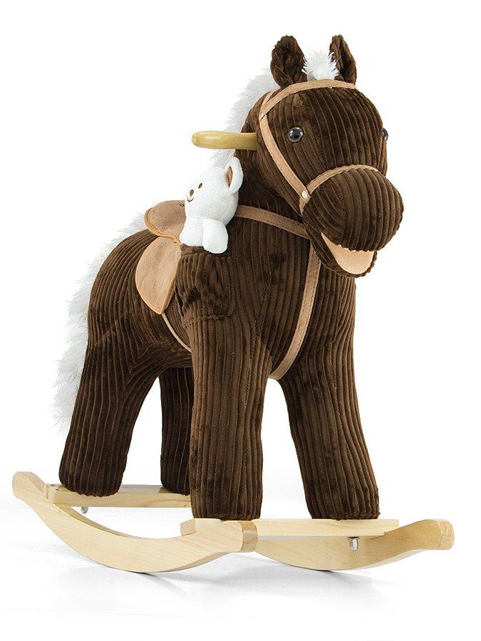 Houpací kůň Milly Mally Pony Bruno Látkový houpací koník se zvuky a pohyby