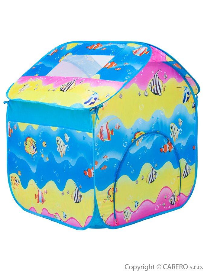 Dětský stan Bayo barvený Hrací stan pro děti