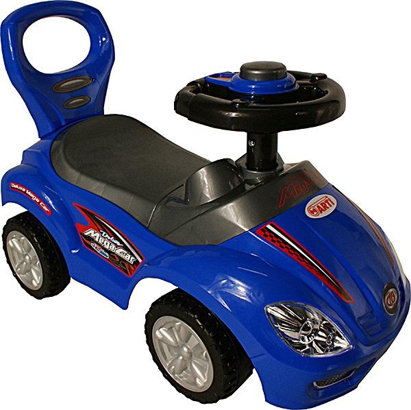 Odrážedlo ARTI 381A Mega Car standard blue Odrážecí auto pro děti