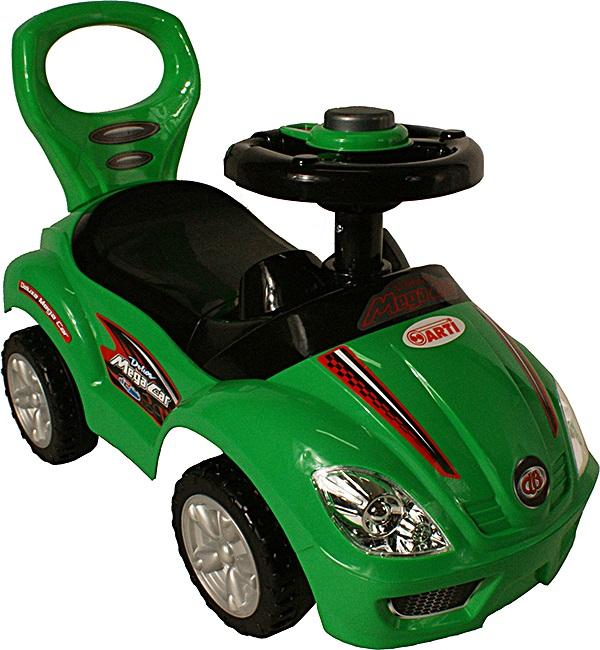 Odrážedlo ARTI 381A Mega Car standard green Odrážecí auto pro děti