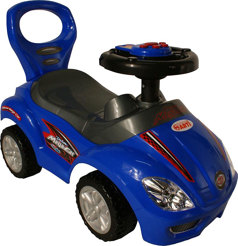 Odrážedlo ARTI 382A Mega Car standart music blue Odrážecí auto pro děti