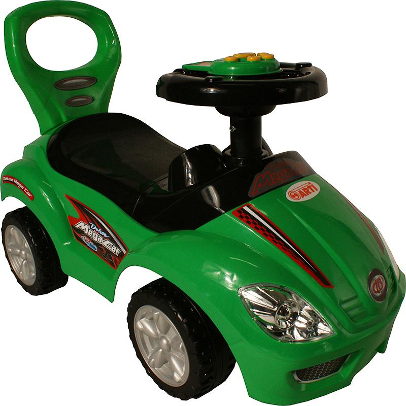Odrážedlo ARTI 382A Mega Car standart music green Odrážecí auto pro děti