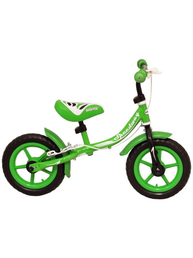 Odrážedlo kolo Baby Mix Speedway green Dětské odrážecí kolo Baby Mix