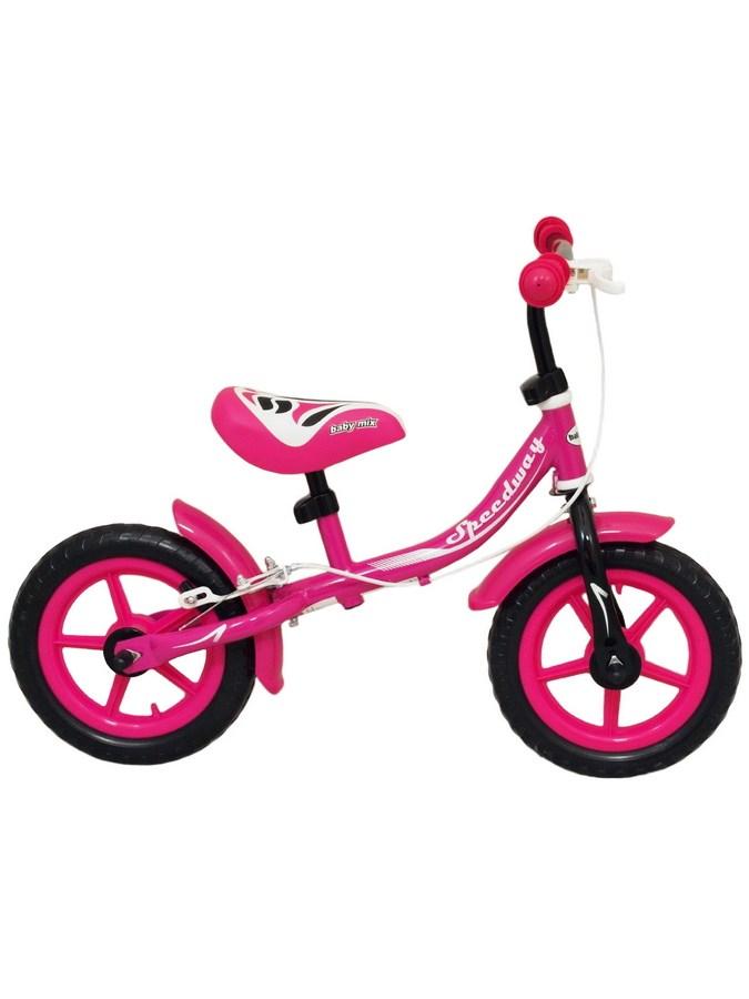 Odrážedlo kolo Baby Mix Speedway pink Dětské odrážecí kolo Baby Mix