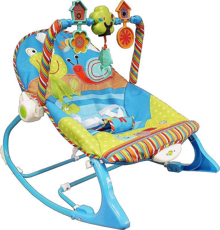 Lehátko houpací ARTI Edu-Play 532 Blue Houpací lehátko pro kojence