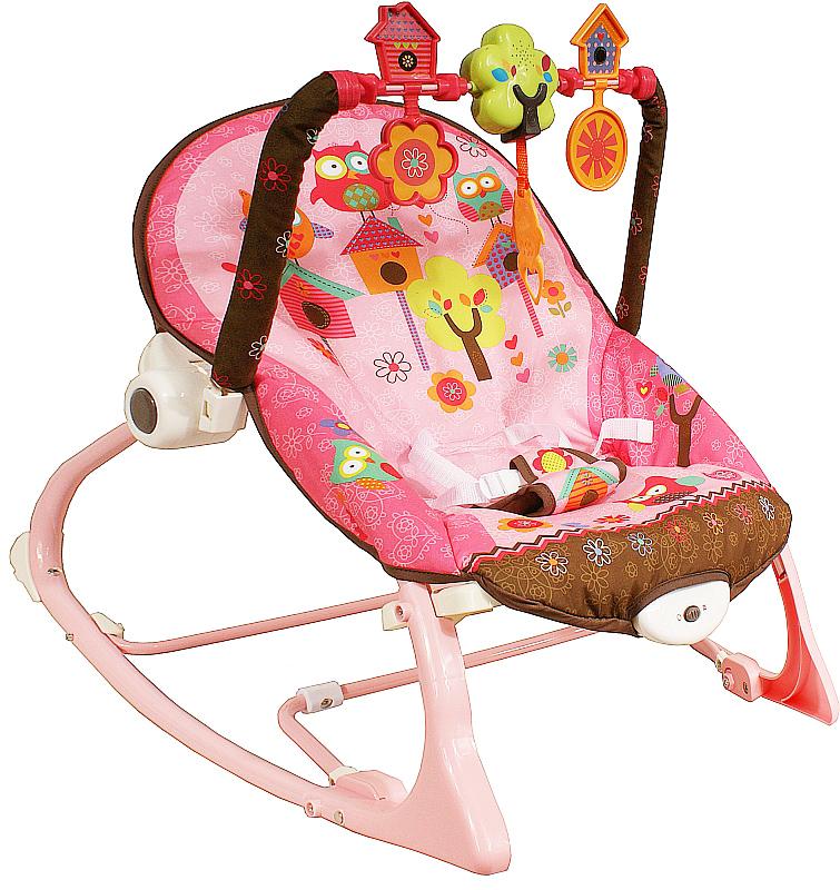 Lehátko houpací ARTI Edu-Play 532 Pink Houpací lehátko pro kojence