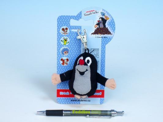 Krtek - přívěšek na klíče Krteček jako přívěšek na klíče nebo batoh, 8 cm