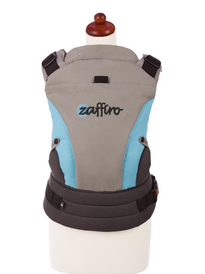 Dětské nosítko Zaffiro ECO Design tyrkys Klokánka pro děti od 3 do 36 měsíců
