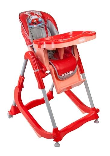 Jídelní židlička Modern Red Skládací jídelní židlička s funkcí kolébky