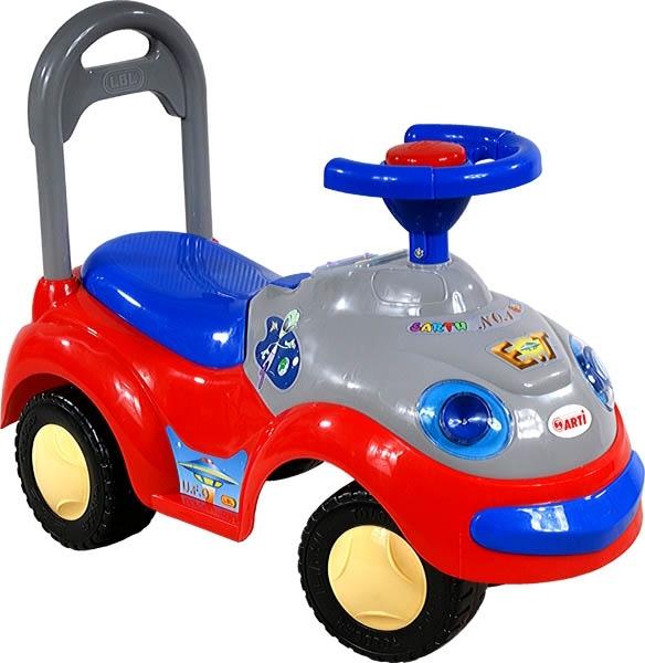 Odrážedlo ARTI GARBUS 2109BY classic red Odrážecí auto pro děti