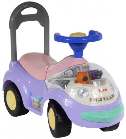 Odrážedlo ARTI GARBUS 2108BY Standard pink Odrážecí auto pro děti