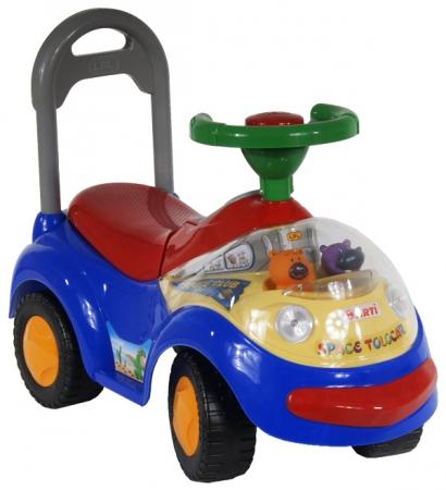 Odrážedlo ARTI GARBUS 2108MY Musical blue Odrážecí auto pro děti