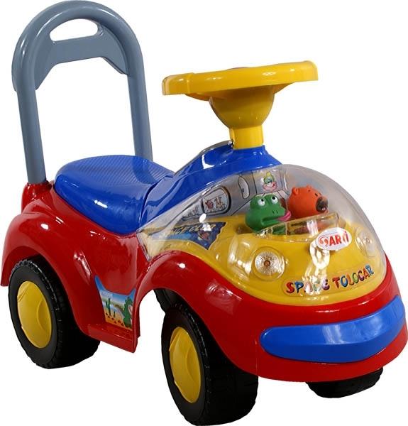 Odrážedlo Arti GARBUS XT408 MUSIC red Odrážecí auto pro děti, s melodiemi