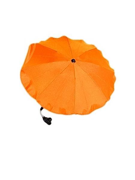 Slunečník na kočárek oranž