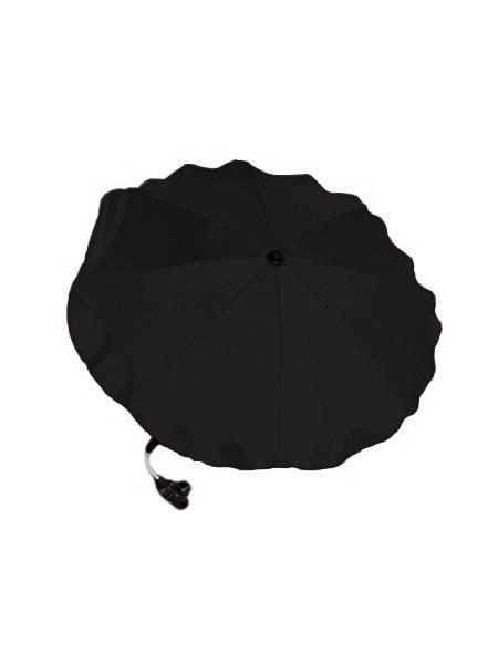 Slunečník na kočárek černý