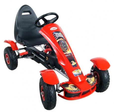 Šlapací kára ARTI Formule sport red Šlapací formule pro děti