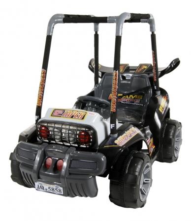 Elektrické auto ARTI BUGGY black Buggina na baterii pro děti
