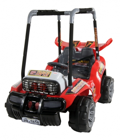 Elektrické auto ARTI BUGGY red Buggina na baterii pro děti