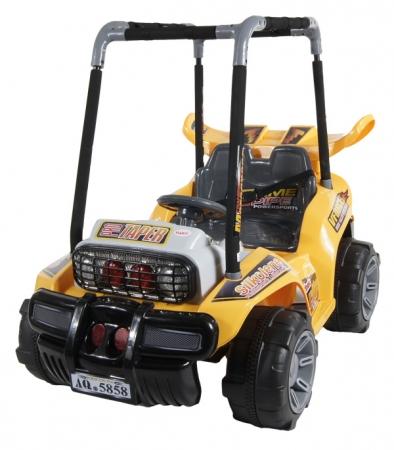 Elektrické auto ARTI BUGGY yellow Buggina na baterii pro děti