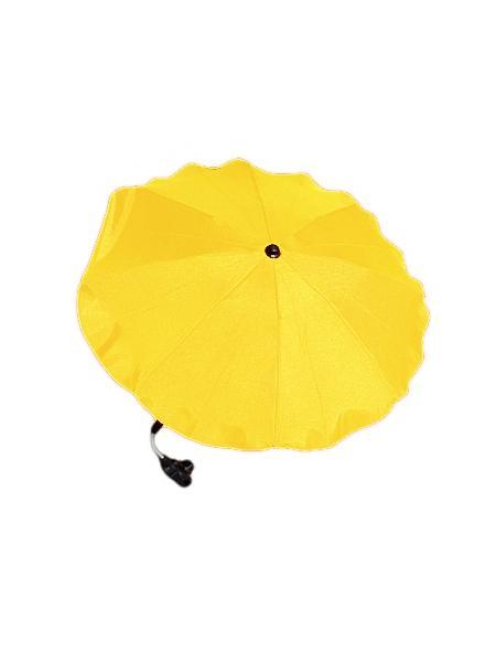 Slunečník na kočárek žlutý