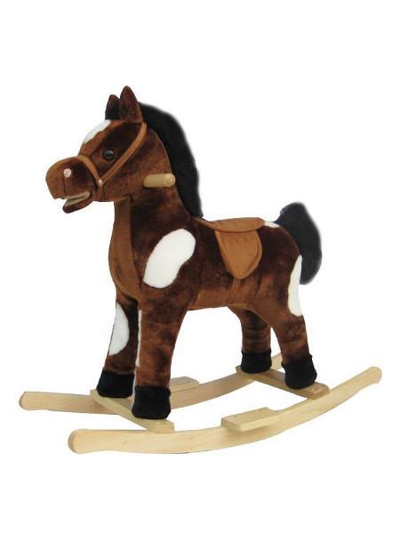 Houpací kůň Baby Mix strakatý