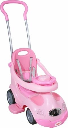 Odrážedlo Master Easy pink Odrážedlo s vodící tyčí a MP3 vstupem