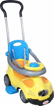 Odrážedlo Master Easy yellow Odrážedlo s vodící tyčí a MP3 vstupem