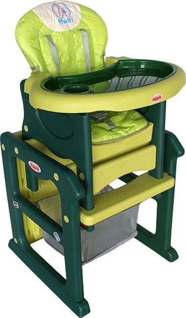 Židlička jídelní PAULI Klokánek G Rozkládací jídelní židlička 2 v 1