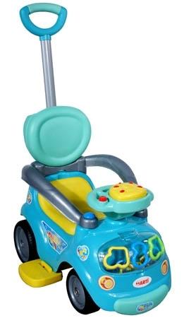 Odrážedlo vozítko ARTI Walker Easy blue light Odrážedlo s vodící tyčí ARTI