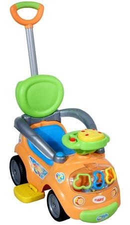 Odrážedlo vozítko ARTI Walker Easy orange Odrážedlo s vodící tyčí