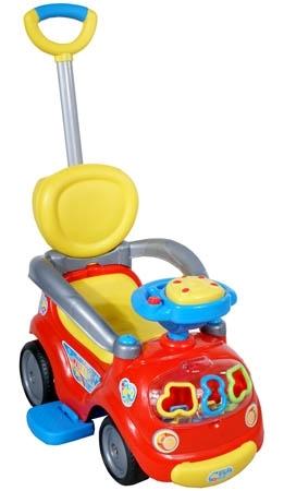 Odrážedlo vozítko ARTI Walker Easy red Odrážedlo s vodící tyčí