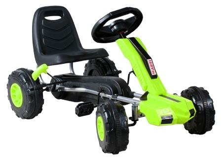 Šlapací auto ARTI Buggy XT green Šlapací kára pro děti
