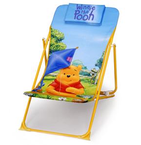 Lehátko dětské skládací Pooh Skládací campingové lehátko Disney