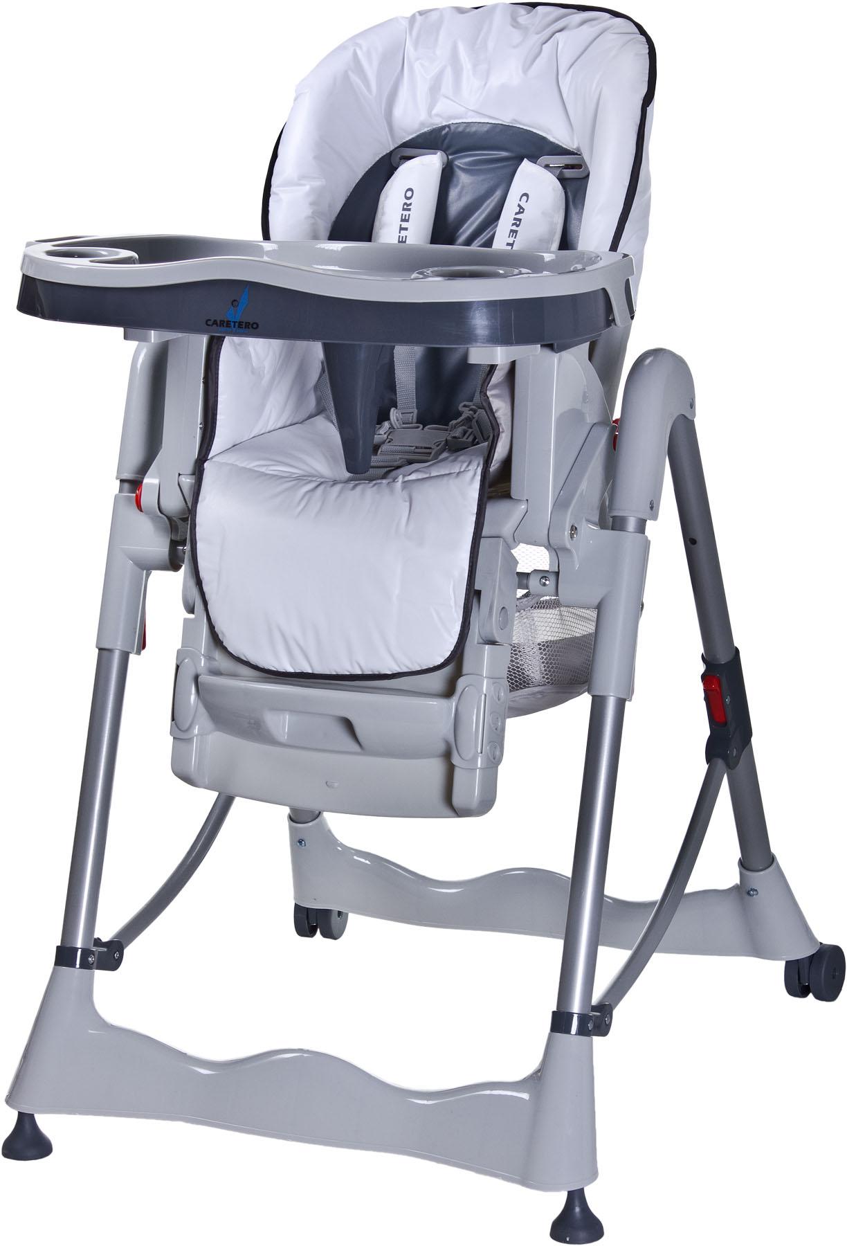CARETERO Magnus Classic white Skládací jídelní židlička Caretero