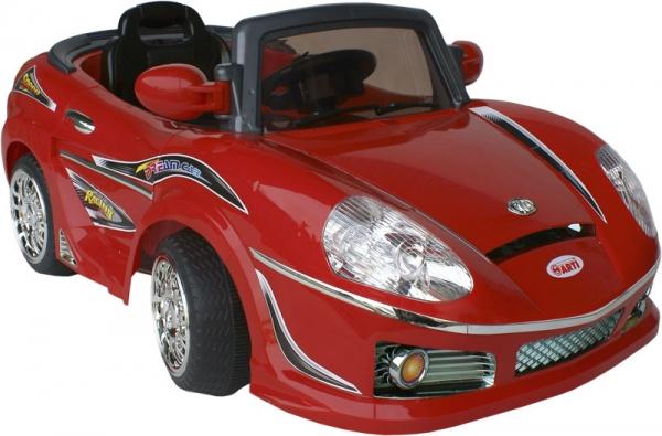Elektrické auto ARTI ROADSTER Red Sportovní elektrické auto pro 1 dítě s možností ovládání vysílačkou