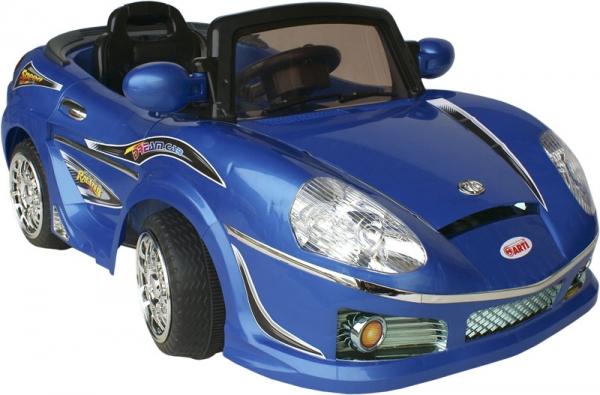 Elektrické auto ARTI ROADSTER Blue Sportovní elektrické auto pro 1 dítě s možností ovládání vysílačkou