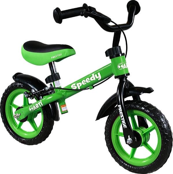 ARTI odrážedlo kolo Speedy M Luxe green Dětské odrážecí kolo Arti Speedy M