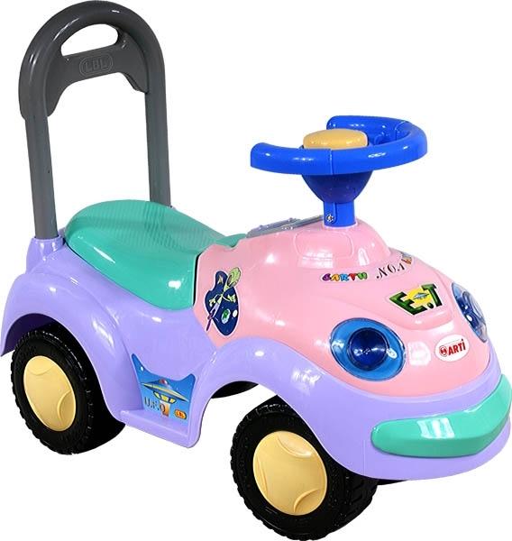 Odrážedlo ARTI GARBUS 2109BY classic violet Odrážecí auto pro děti