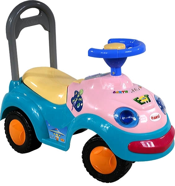 Odrážedlo ARTI GARBUS 2109BY classic blue L Odrážecí auto pro děti