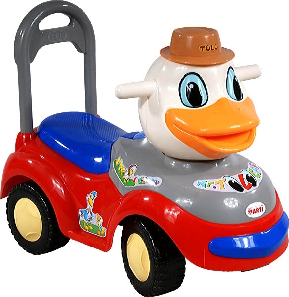Odrážedlo Arti 2100MY Kačer red Odrážecí auto pro děti