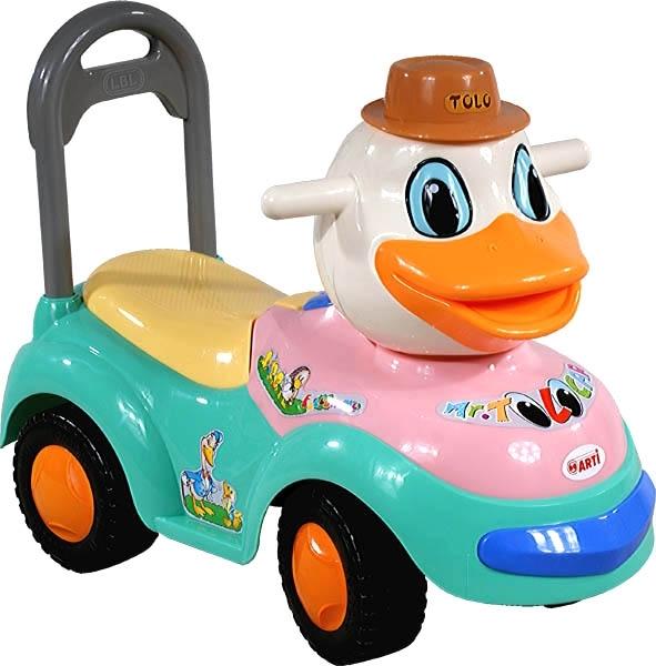 Odrážedlo Arti 2100MY Kačer blue light Odrážecí auto pro děti