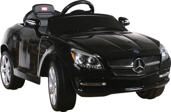 Elektrické auto RASTAR Mercedes SLK black Elektrické auto pro 1 dítě s dálkovým ovládáním