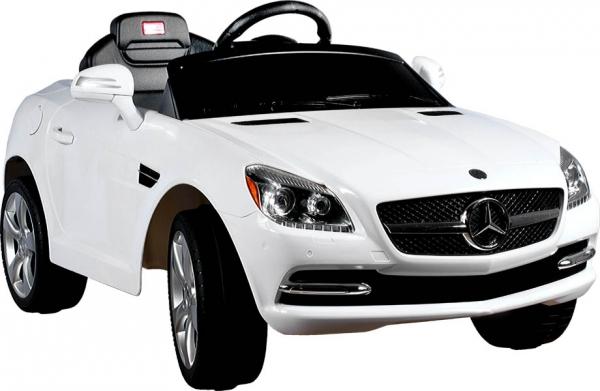 Elektrické auto RASTAR Mercedes SLK white Elektrické auto pro 1 dítě s dálkovým ovládáním