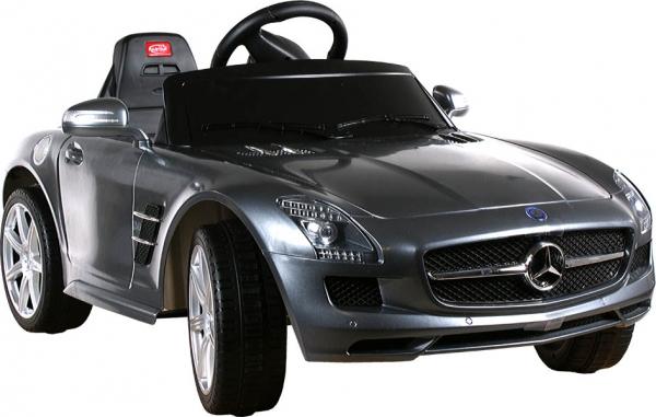 Elektrické auto RASTAR Mercedes SLS AMG silver Elektrické auto pro 1 dítě s dálkovým ovládáním