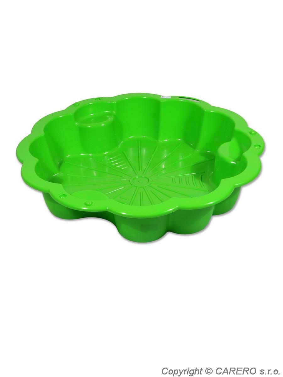 Pískoviště plastové Fiore zelené