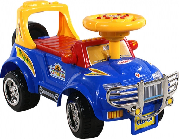 Odrážedlo auto Arti 3111 BIG J blue Odrážecí auto Arti pro děti