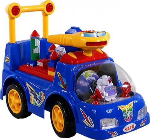 Odrážedlo ARTI Ufo Car blue Odrážecí auto pro děti