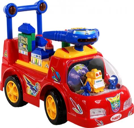 Odrážedlo ARTI Ufo Car red Odrážecí auto pro děti