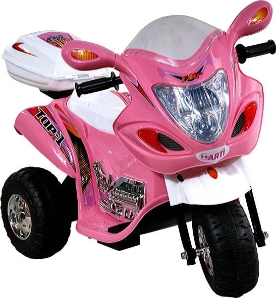 Motorka elektrická ARTI Buzzy pink Dětská elektrická motorka